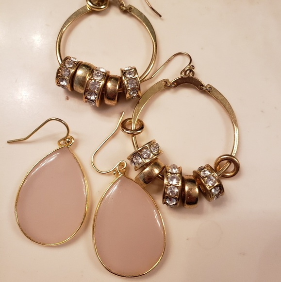 402d7e7393468 Earring bundle blush gold